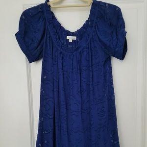 Shoshanna Cobalt Blue Minidress / Tunic